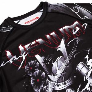 Рашгард Venum Samurai Skull Rashguard Long Sleeves (VENUM-03198-001) Black р. XXL